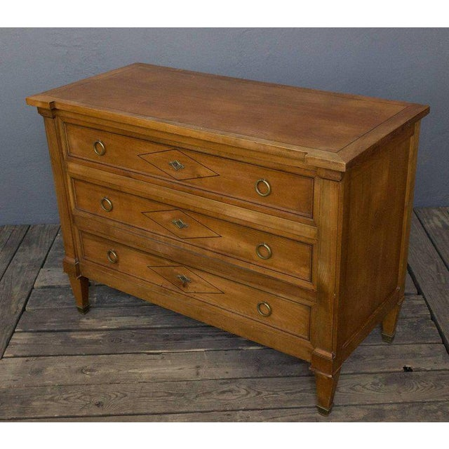 Neo Directoire Style Fruitwood Chest of Drawers For Sale - Image 9 of 10