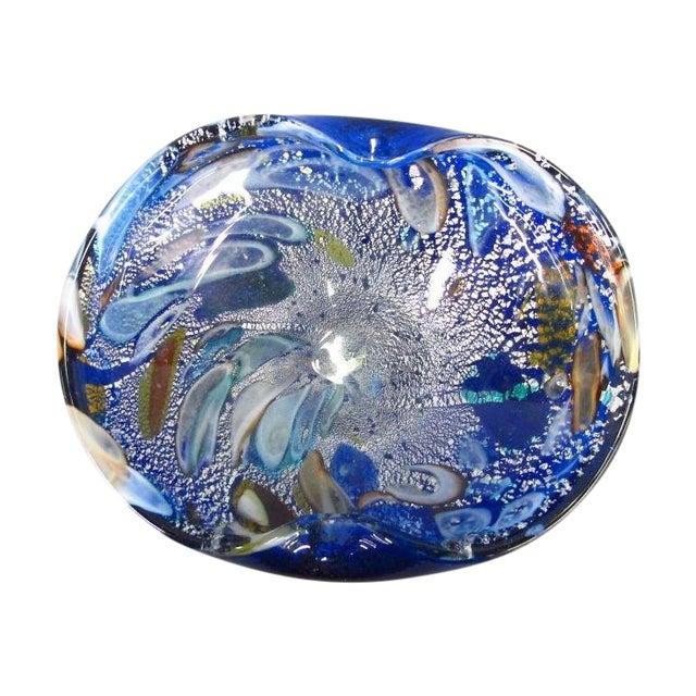 Blue Murano Glass Bowl - Image 1 of 4