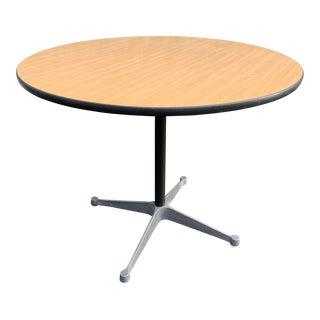 Mid Century Herman Miller Eames Pedestal Table For Sale