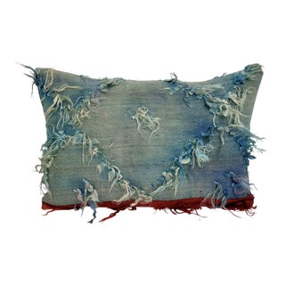 Vintage Tulu Accent Lumbar Pillow For Sale