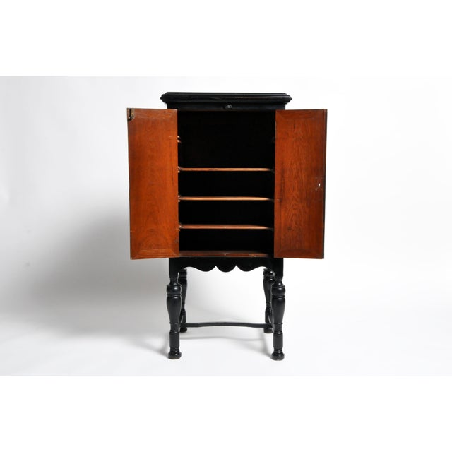Teak British Colonial Cabinet For Sale - Image 7 of 13
