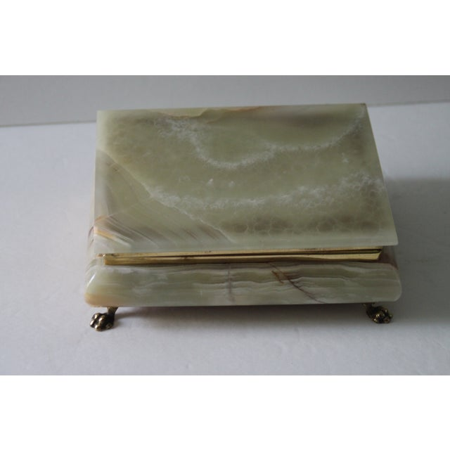 Hinged Onyx Box - Image 5 of 6