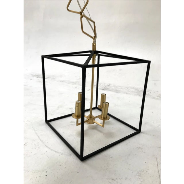 Modern Modern Brass and Gold Pendant by Becki Owens for Hudson Valley Lighting For Sale - Image 3 of 10