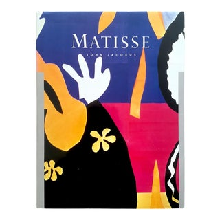 Henri Matisse Rare Vintage 1983 First Edition Collector's Hardcover Modern Art Book For Sale