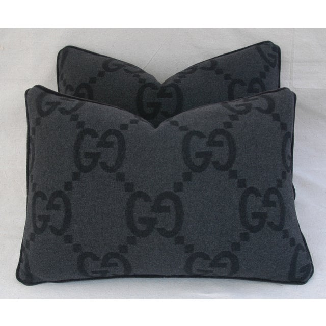 Gucci Cashmere & Mohair Pillows - Pair - Image 6 of 10
