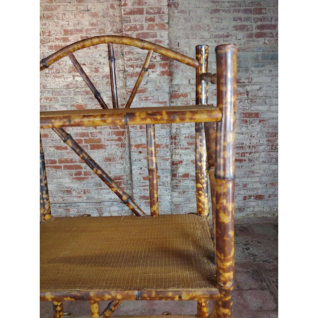 19th Century Original Victorian 5 Tier Bamboo Bookstand For Sale In Los Angeles - Image 6 of 9