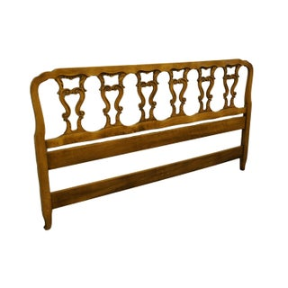 Late 20th Century Hickory Manufacturing Co. Louis XVI French Provincial King Size Headboard Preview