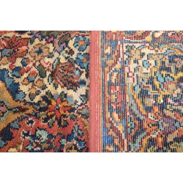 Karastan Multicolor Panel 5.9 X 6.9 Area Rug # 717 For Sale - Image 10 of 13