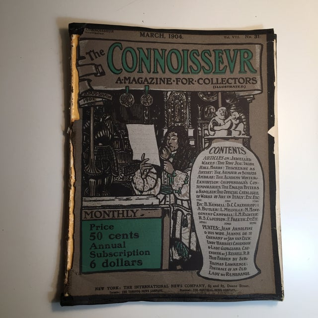 The Connoisseur 1904 Antiques and Collectors For Sale - Image 10 of 10