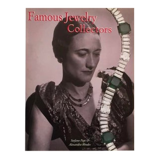 Famous Jewelry Collectors, Stefan Papi & Alexandra Rhodes, 1999, Out of Print For Sale