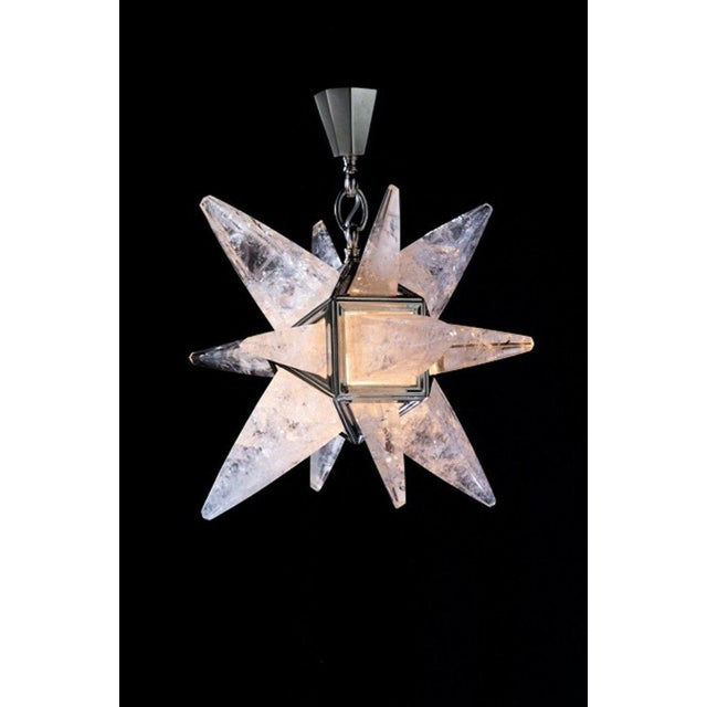 White Rock Crystal Star Light For Sale - Image 8 of 10