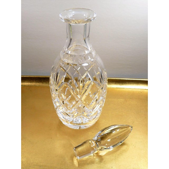 Royal Doulton Royal Doulton England Cut Lead Crystal Decanter For Sale - Image 4 of 9