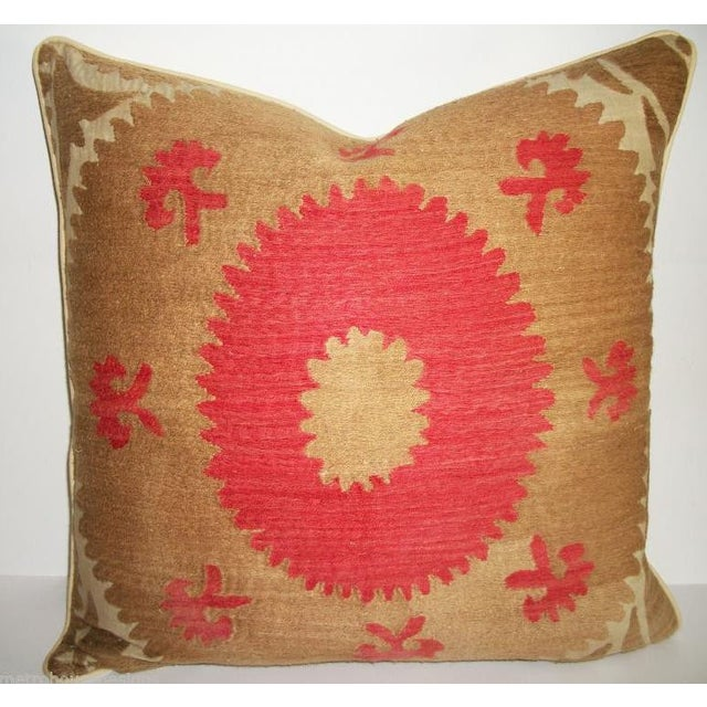 Vintage Suzani Bolinpush Accent Pillow III - Image 2 of 2