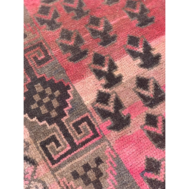 1940s Vintage Persian Baluchi Rug - 3′10″ × 6′1″ For Sale - Image 9 of 13