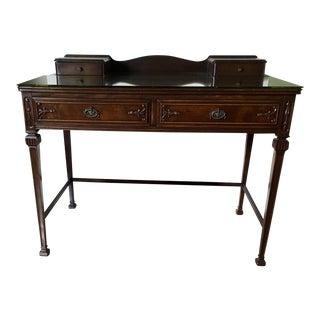 20th Century Queen Anne Mahogany Ladies Desk