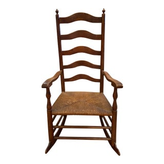 Late 18th Century Antique Rocking Chair For Sale