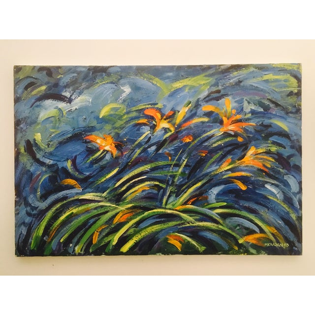 Original Expressionistic Impasto Painting - Image 2 of 8