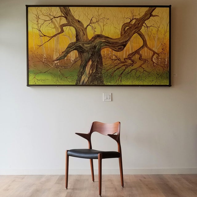 1960s Newly Upholstered Niels Moller Model 55 Dining Chair For Sale - Image 12 of 13