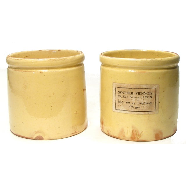 Antique French Glazed Pots - A Pair - Image 2 of 3