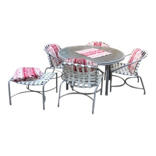 Brown and Jordan Classic Aluminum Patio Furniture For Sale