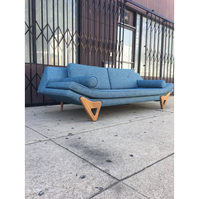 """2010s Adrian Persall Inspired """"Gondola"""" Sofa/ Custom Made For Sale - Image 5 of 12"""