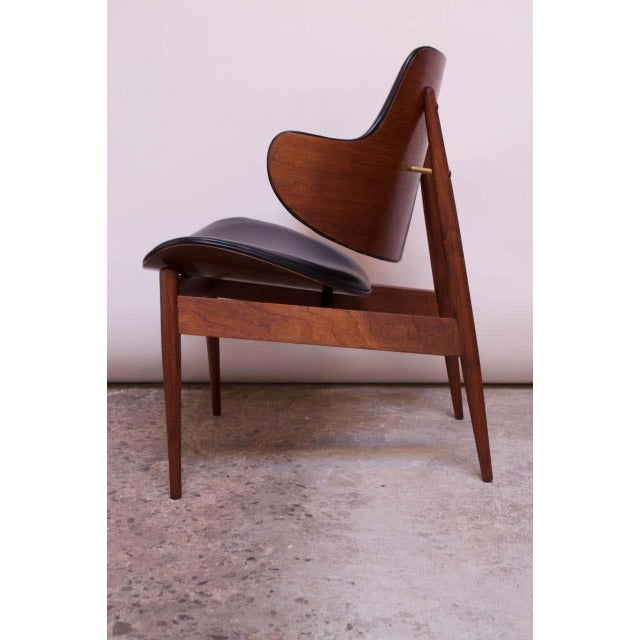 Mid-Century Modern Seymour J. Wiener Walnut Lounge Chair for Kodawood For Sale - Image 3 of 13