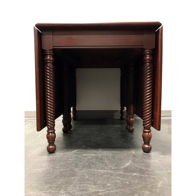 Willett Cherrywood Gate Leg Drop Leaf Dining Table For Sale - Image 5 of 11