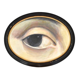 Lover's Eye Contemporary Painting For Sale