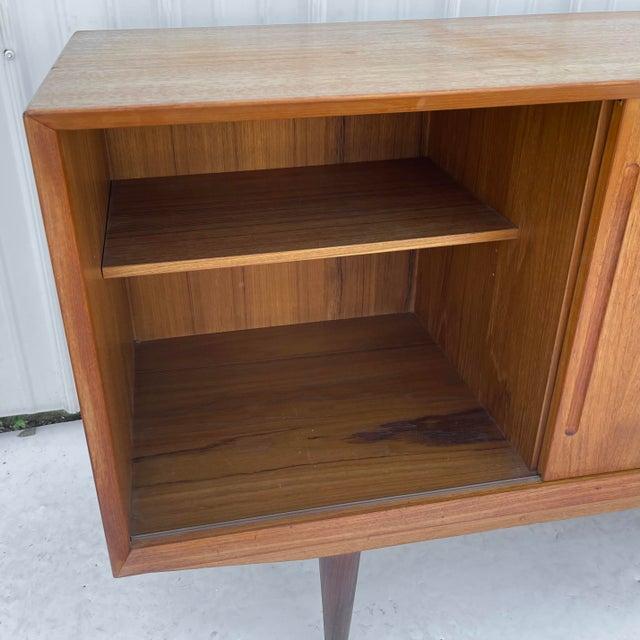Mid-Century Modern Teak Sideboard Attr. Jens Quistgaard for Løvig For Sale - Image 10 of 13