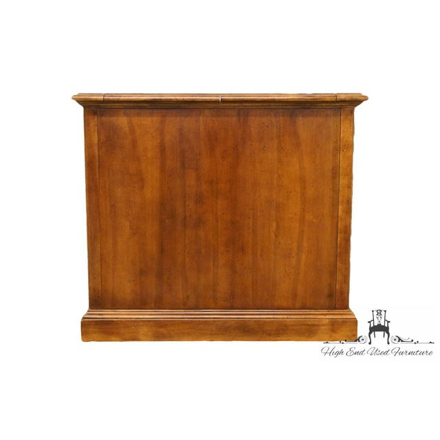 a60e96e4b9d24 Late 20th C. Vintage American of Martinsville Solid Walnut Flip-Top Server  Sideboard For