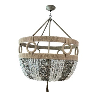 Ro Sham Beaux Frankie Malibu Chandelier For Sale