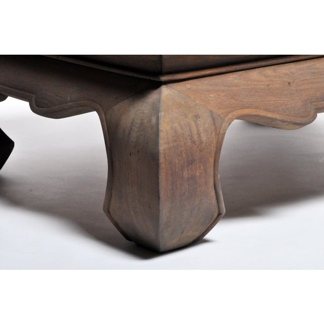 Contemporary Thai Lanna Coffee Table For Sale - Image 11 of 13