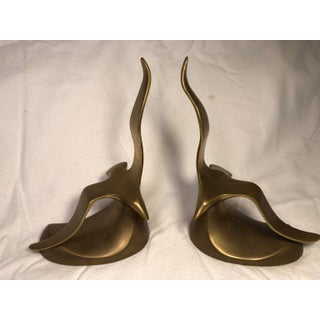 Mid-Century Modern Brass Seagull Bookends - a Pair Preview