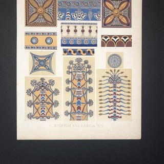 Persia and Nineveh Plate From Grammar of Ornament Preview