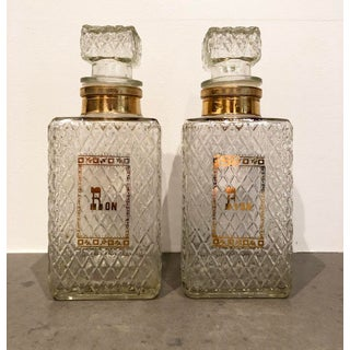 "Vintage ""Ron"" Decanters - a Pair Preview"