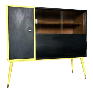 Mid-Century 1960s Bar Cabinet For Sale