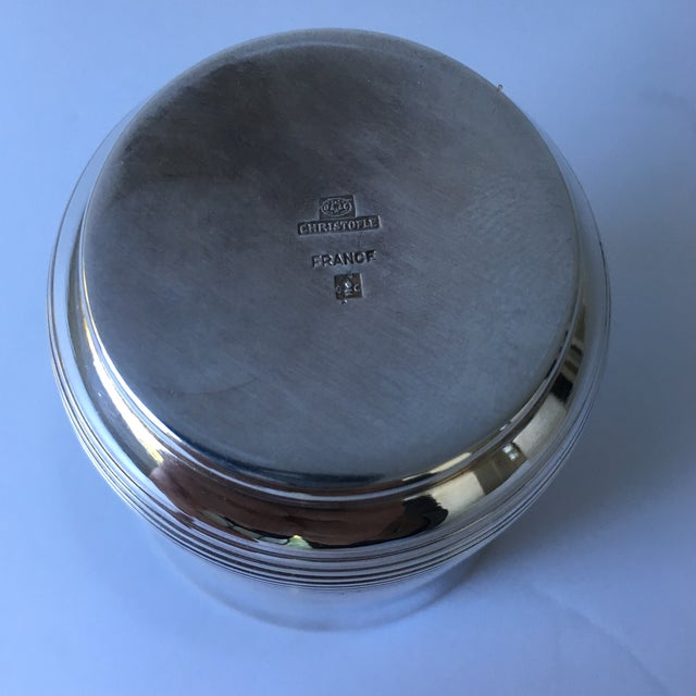 Christofle Silver Plated Babe Tumbler Cup For Sale In San Francisco - Image 6 of 11