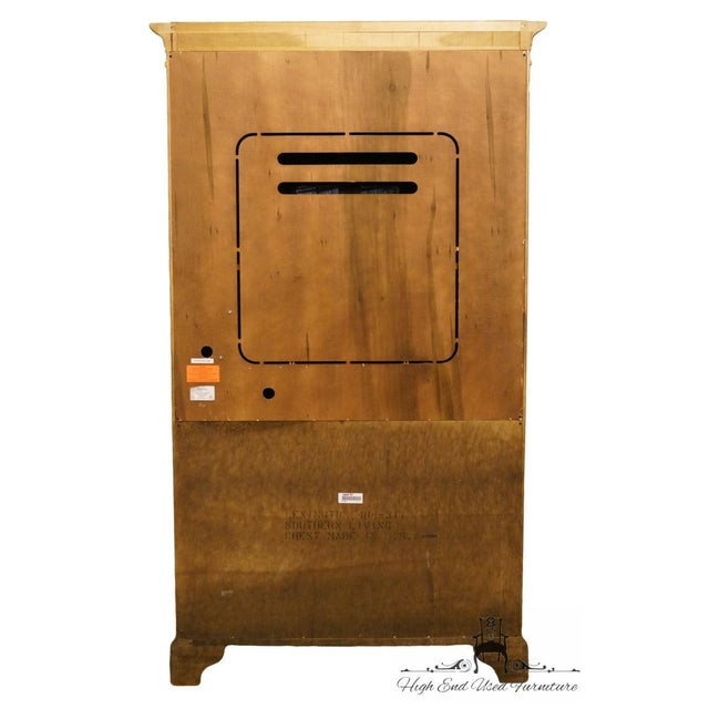 Brown Late 20th Century Vintage Lexington Furniture Southern Living Collection Country French Armoire For Sale - Image 8 of 10