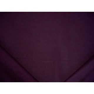 Traditional Ralph Lauren Burke Wool Plain Deep Purple Upholstery Fabric - 3y For Sale