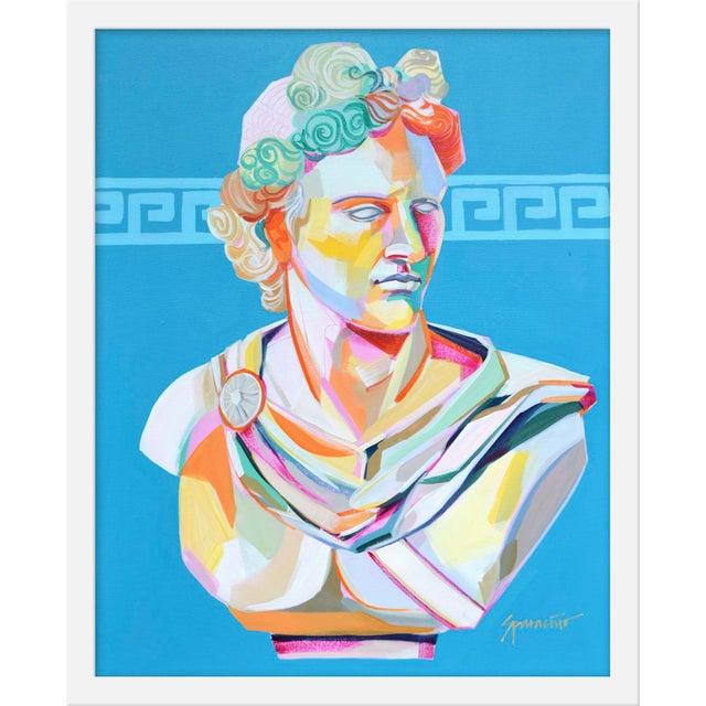 "Medium ""Greek Bust Ii"" Print by Jennifer Sparancino, 17"" X 21"" For Sale"