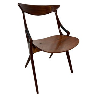 1950s Vintage Arne Hovmand-Olsen for Mogens Kold Sculptural Chair For Sale