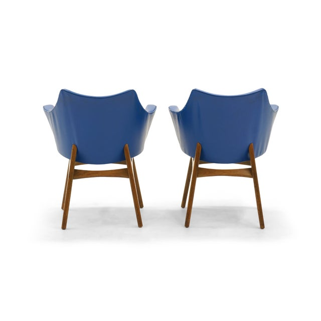 Adrian Pearsall Dining Chairs, Set of Four - Image 5 of 10