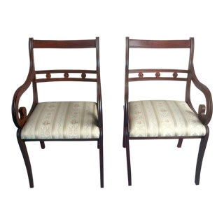 1970s Vintage Baltman and Co Italian Armchairs - A Pair For Sale