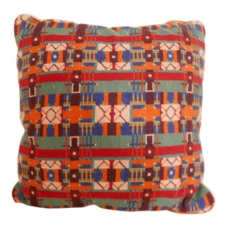 Traditional Needlepoint Pillow