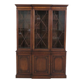Kindel 3 Door Mahogany China Cabinet