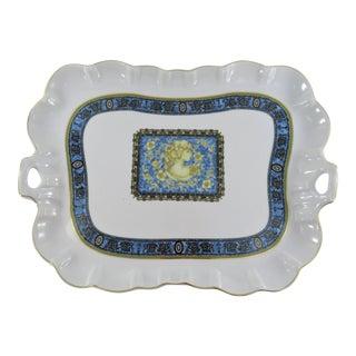 Vintage Venetian Lagoon Limoges Champellise Porcelain Platter For Sale