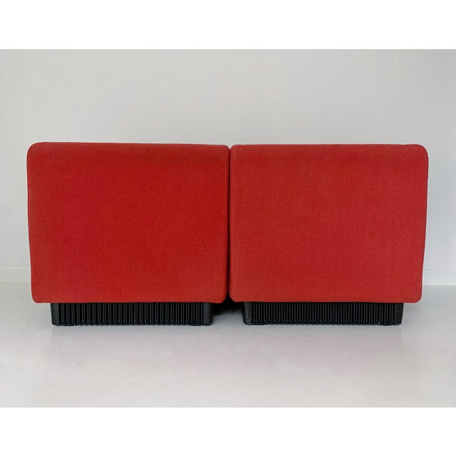1970s 1970's Vintage Don Chadwick for Herman Miller Modular Lounge Chairs - a Pair For Sale - Image 5 of 7