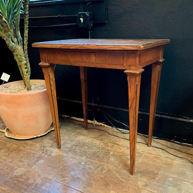 Napoleon III Late 1800's Napoleon Style Side Table For Sale - Image 3 of 6