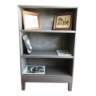 Lawyer Barrister Open Bookcase Vintage Steel For Sale