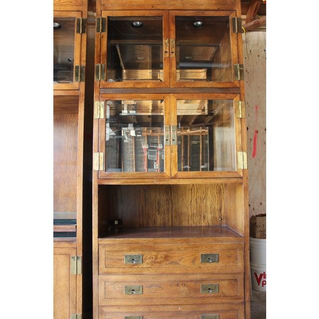 Henredon Scene 1 Campaign Cabinets - Image 3 of 5
